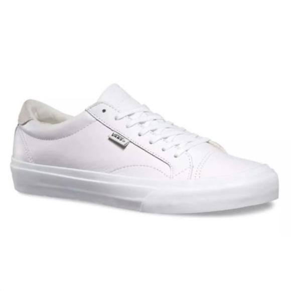 Vans Court DX Leather Black Skate Shoes Size Men 11